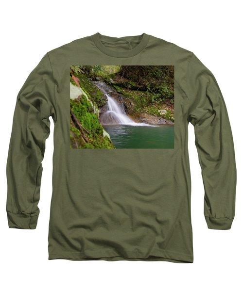 Mountain Waterfall II Long Sleeve T-Shirt