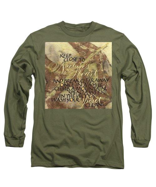 Nature's Heart Long Sleeve T-Shirt