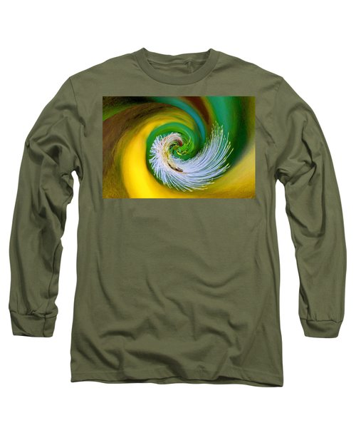 Nature's Spiral Long Sleeve T-Shirt