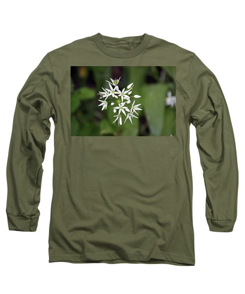 Neston. Wild Garlic. Long Sleeve T-Shirt