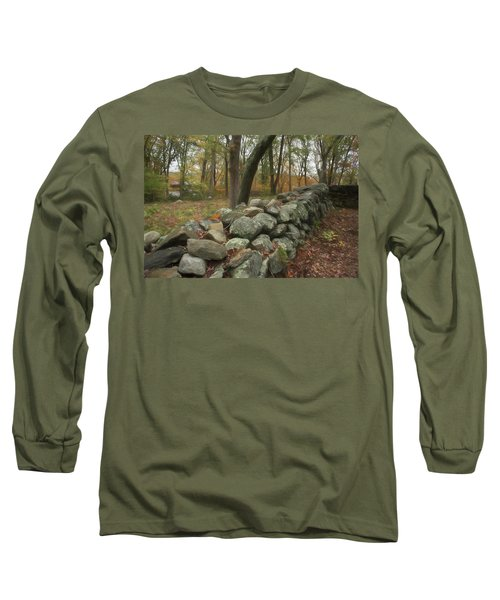 New England Stone Wall 1 Long Sleeve T-Shirt