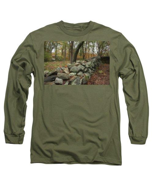 New England Stone Wall 1 Long Sleeve T-Shirt