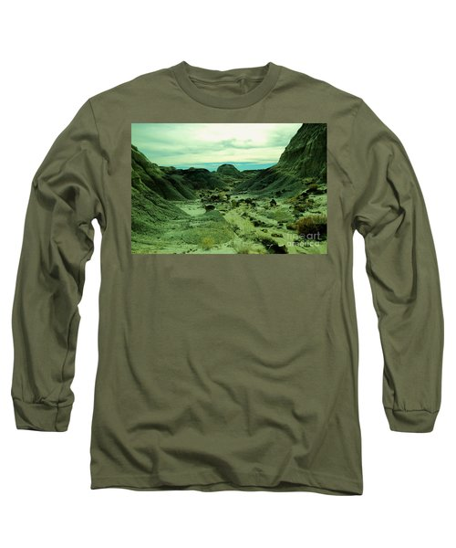 New Mexico And It's Beautiful Isolation  Long Sleeve T-Shirt