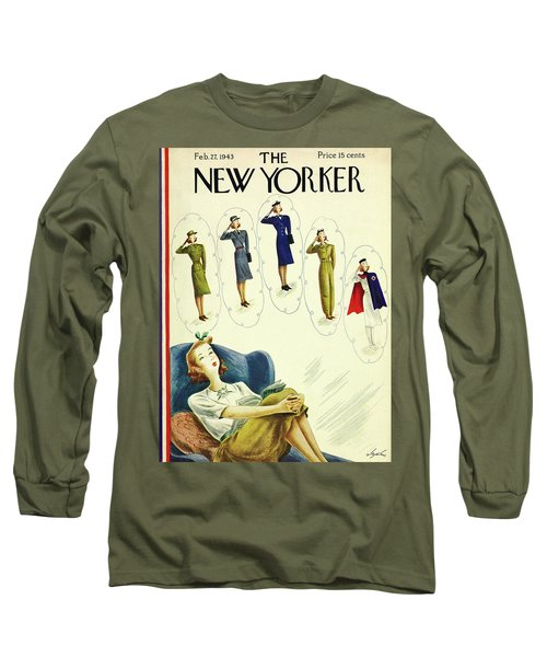 New Yorker February 27th 1943 Long Sleeve T-Shirt