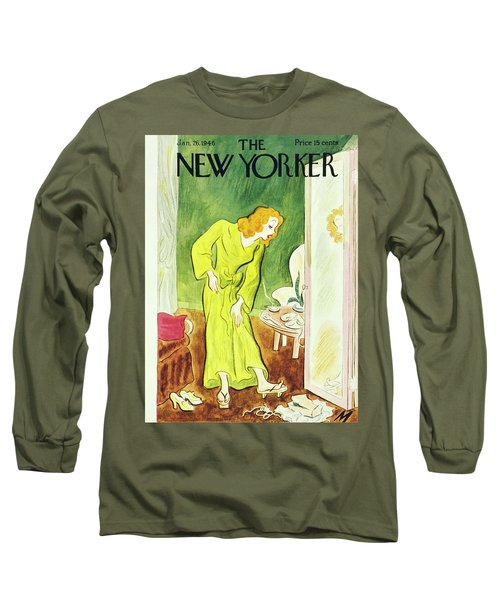 New Yorker January 26th 1946 Long Sleeve T-Shirt