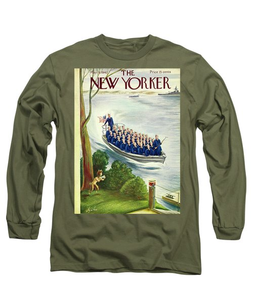 New Yorker May 9th 1942 Long Sleeve T-Shirt