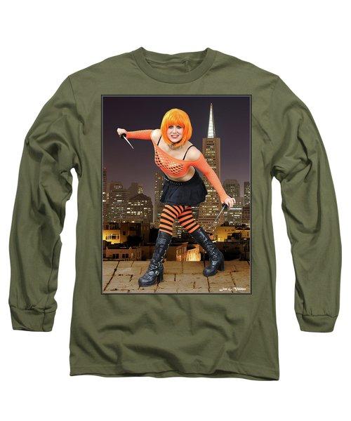 Night Of The Clockwork Orange Long Sleeve T-Shirt