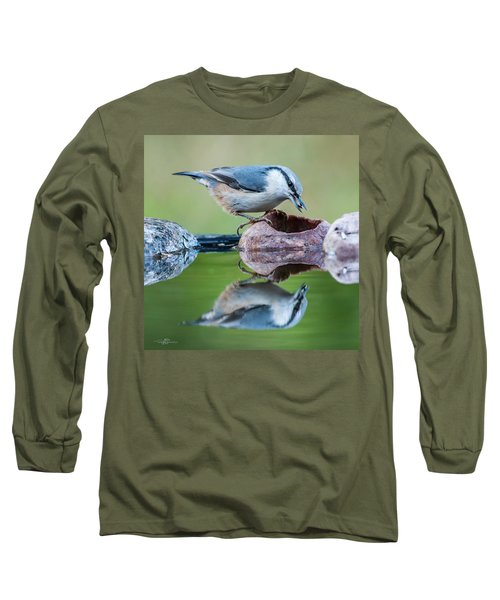Nuthatch's Catch Long Sleeve T-Shirt