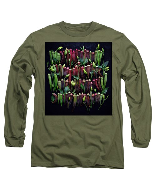 Okra Colors Long Sleeve T-Shirt