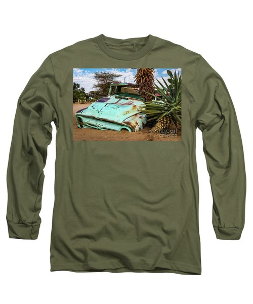 Old And Abandoned Car 2 In Solitaire, Namibia Long Sleeve T-Shirt