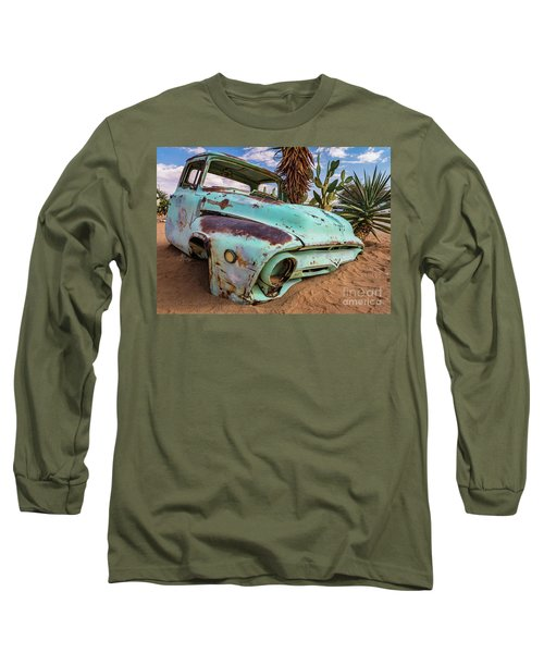 Old And Abandoned Car 7 In Solitaire, Namibia Long Sleeve T-Shirt