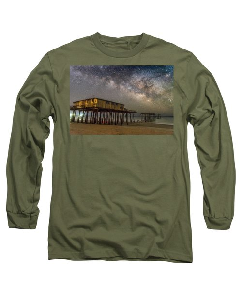 Old Frisco Pier Long Sleeve T-Shirt