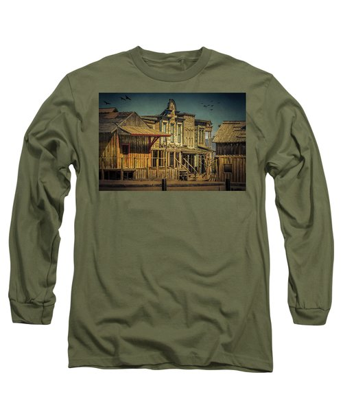 Old Western Town Long Sleeve T-Shirt