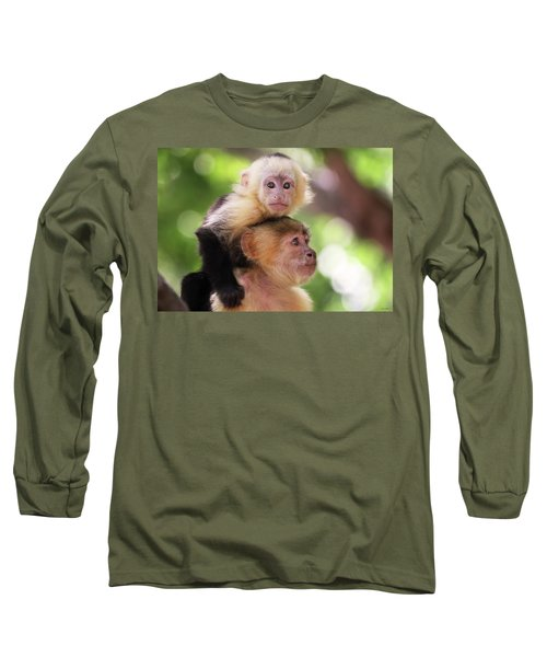 One Of Those Days When You Just Can't Seem To Get The Monkey Off Your Back Long Sleeve T-Shirt
