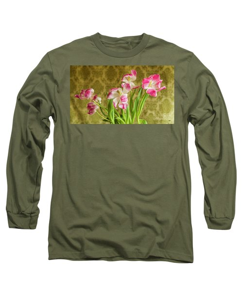 Opening Tulips Long Sleeve T-Shirt
