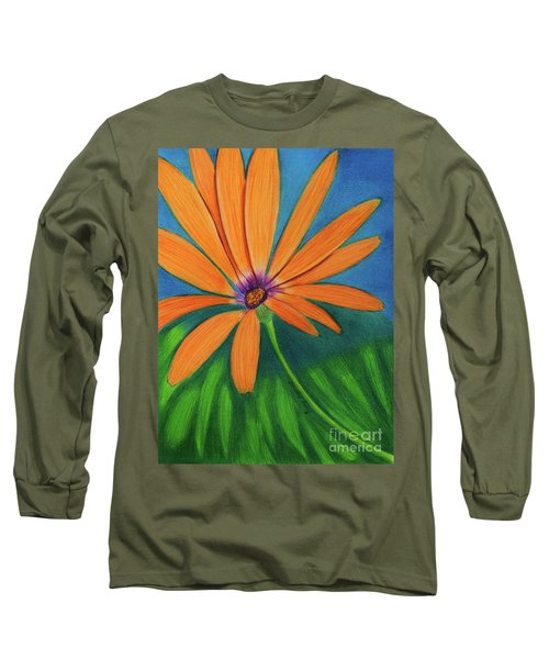 Orange Symphony On A Cool Spring Day  Long Sleeve T-Shirt