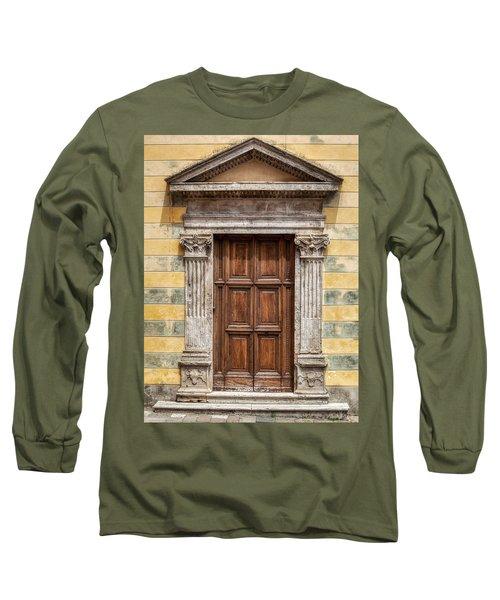 Ornate Door Of Tuscany Long Sleeve T-Shirt