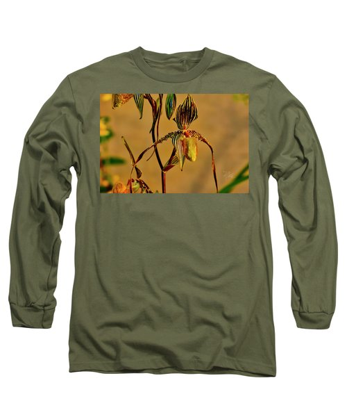 Orchid Study Eight Long Sleeve T-Shirt