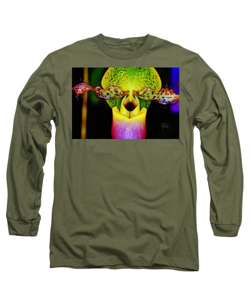 Orchid Study One Long Sleeve T-Shirt