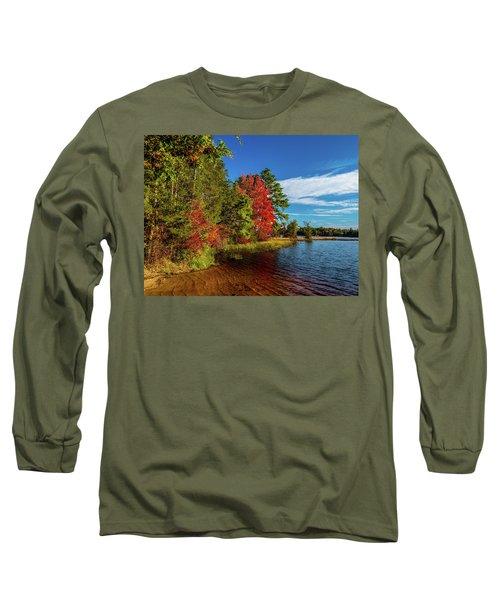 Oswego Lake Pinelands Long Sleeve T-Shirt