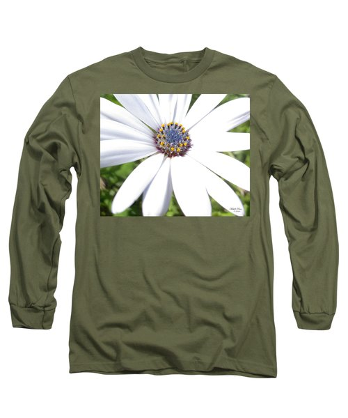 Page 13 From The Book, Peace In The Present Moment. Daisy Brilliance Long Sleeve T-Shirt