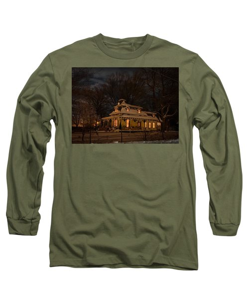 Painted Lady In Winter Long Sleeve T-Shirt