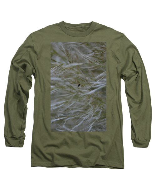 Pampas Grass And Insect Long Sleeve T-Shirt