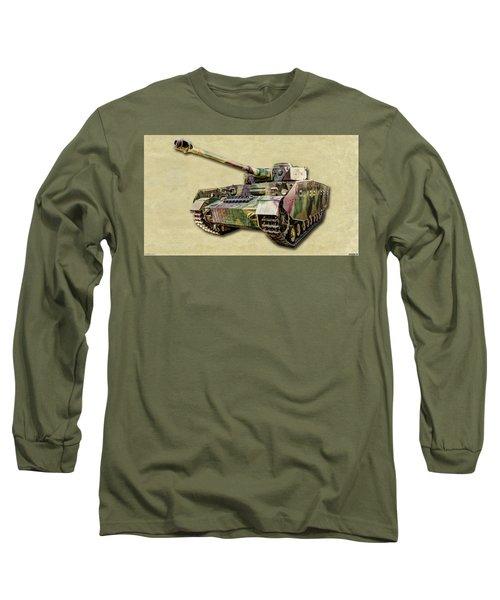 Panzer Iv Canvas Long Sleeve T-Shirt