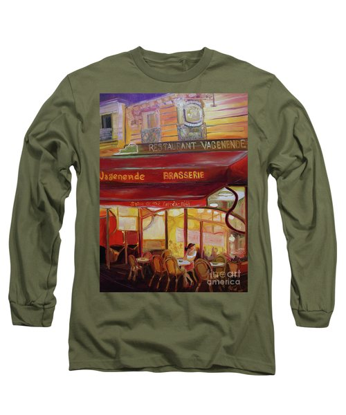 Paris Night Long Sleeve T-Shirt