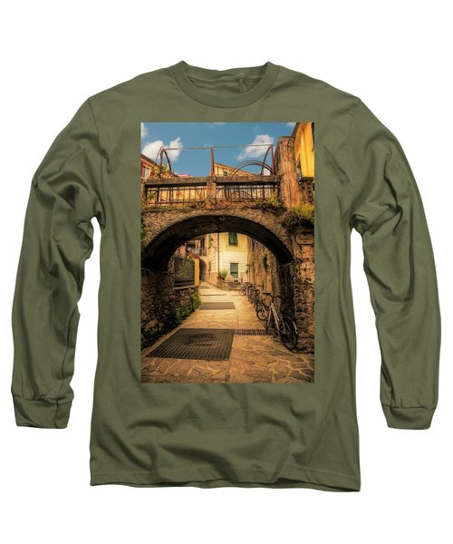 Passageway In Monterosso Long Sleeve T-Shirt