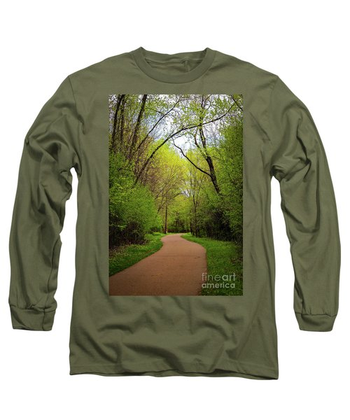 Path In The Forest Long Sleeve T-Shirt