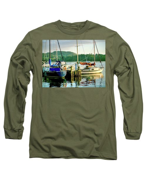 Peace In Lake Windermere Long Sleeve T-Shirt