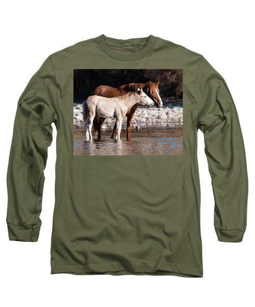Long Sleeve T-Shirt featuring the photograph Peace by Mary Hone