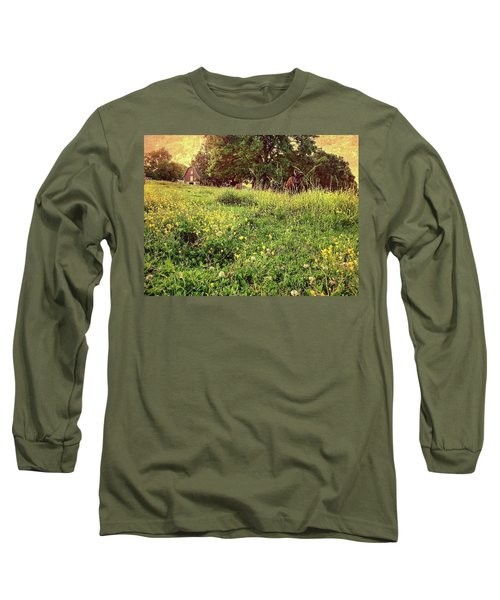 Peaceful Pastoral Perspective Long Sleeve T-Shirt