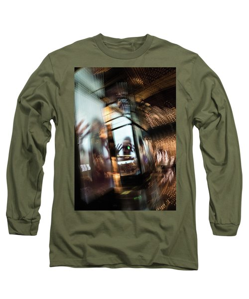 Long Sleeve T-Shirt featuring the photograph Peering Through by Alex Lapidus