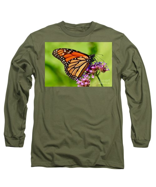 Perfect Monarch Long Sleeve T-Shirt