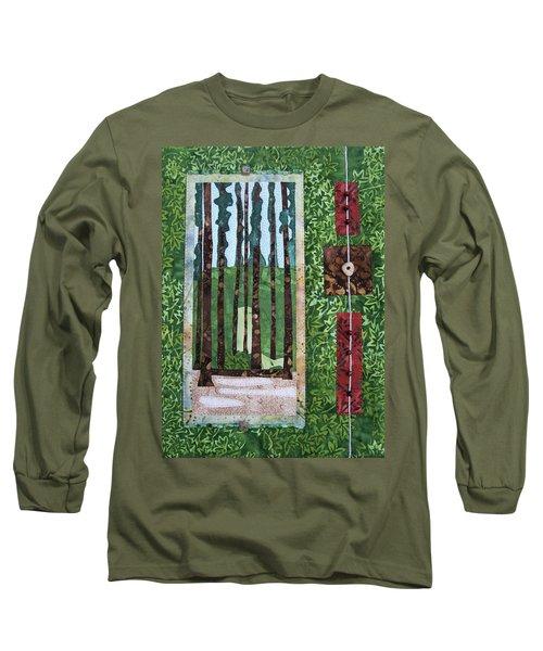 Pine Forest Tall Long Sleeve T-Shirt