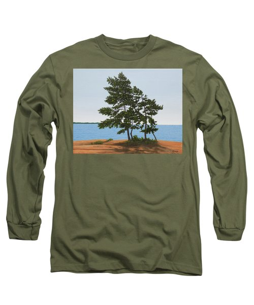 Pine On The Point Long Sleeve T-Shirt
