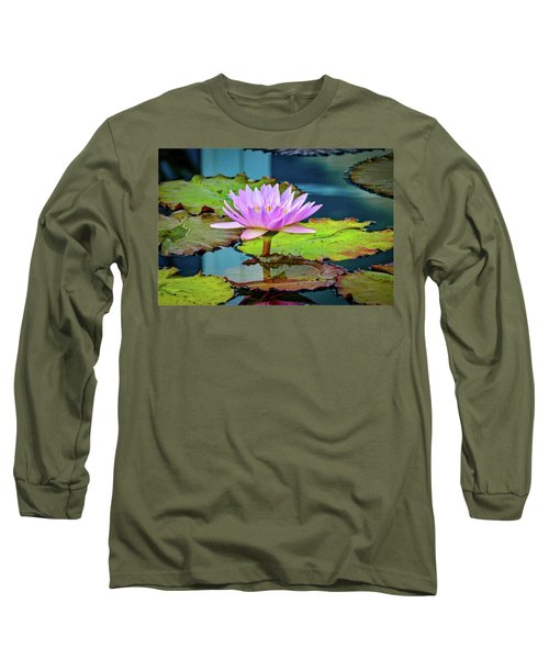 Pink Lotus Long Sleeve T-Shirt