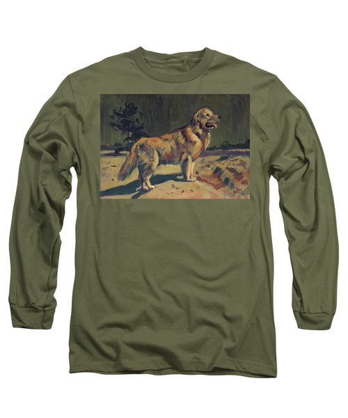 Pixel In The Dunes Of Loon Op Zand Long Sleeve T-Shirt