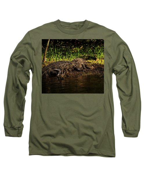 Playing In The Mud Long Sleeve T-Shirt