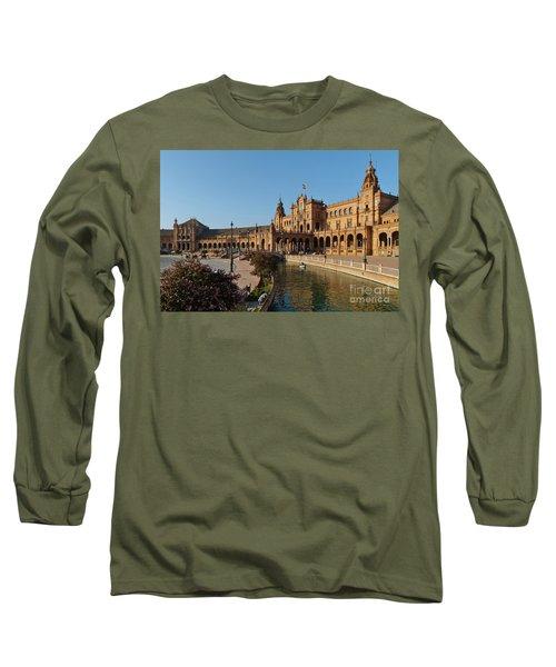 Plaza De Espana Bridge View Long Sleeve T-Shirt