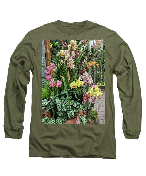 Plentiful Orchids Long Sleeve T-Shirt