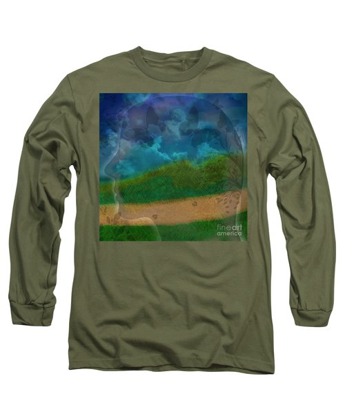 Portrait Of Time Long Sleeve T-Shirt