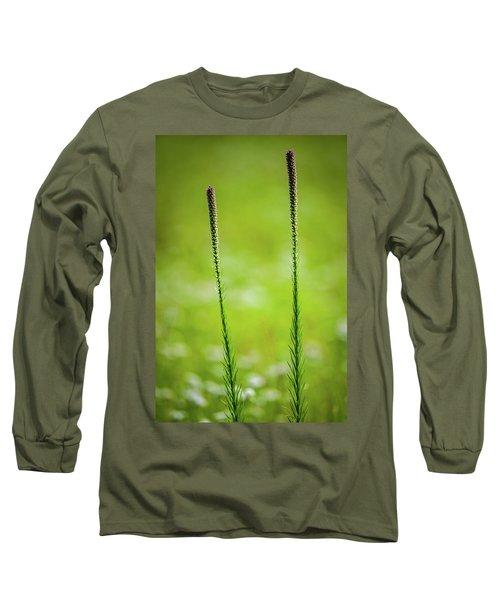 Prairie Blazing Star Long Sleeve T-Shirt