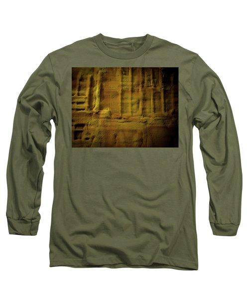 Prehistoric Scene Long Sleeve T-Shirt