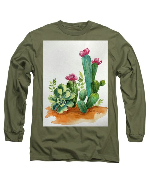 Prickly Cactus Long Sleeve T-Shirt