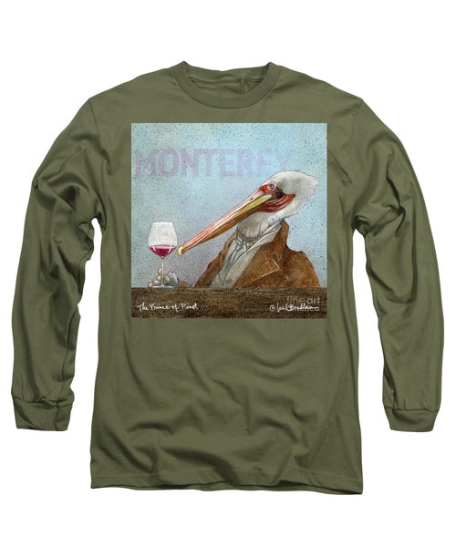 Prince Of Pinot, The Long Sleeve T-Shirt