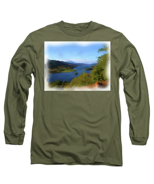 Queens View Painting Long Sleeve T-Shirt