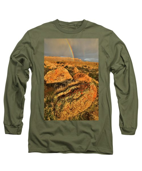 Rainbow Over The Book Cliffs Long Sleeve T-Shirt